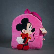 Дитячий рюкзак Stip Молдова для садка для дівчинки з Міккі Мінні Маус рожевий