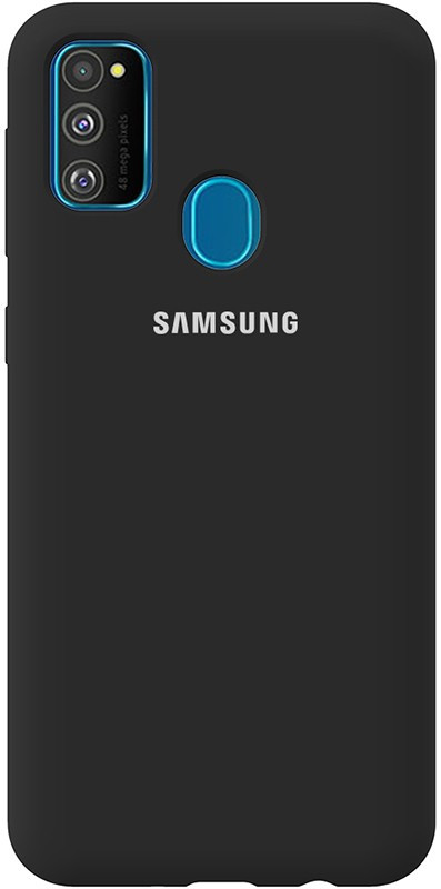 Чехол-накладка TOTO Silicone Full Protection Case Samsung Galaxy M30s Black #I/S