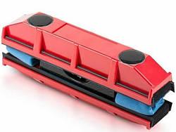 Магнитная щетка для мытья окон с двух сторон MHZ Glider, красная