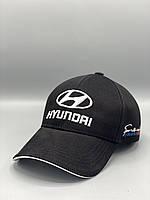Автомобильная кепка бейсболка Хюндай Hyundai черная