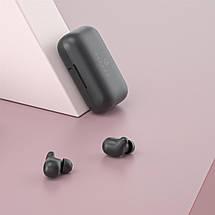 Беспроводные Bluetooth наушники Haylou T15 с чехлом-аккумулятором (Черный), фото 3