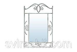 Зеркало Неаполь Серебристый кованное