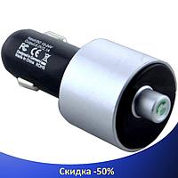FM Трансмітер G9 BT, MP3 модулятор, фм модулятор для авто, Фм-Трансмітер з екраном, блютуз модулятор