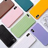 Чохол силіконовий для iPhone Xs Max Фіолетовий, фото 2