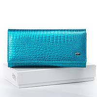 Женский кожаный кошелек SERGIO TORRETTI W501 light-blue Женские кошельки оптом Одесса 7 км, фото 1