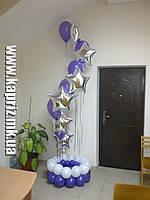Оригинальное оформление  шарами
