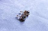 Стильні сережки фірми Xuping ( color 25), фото 3