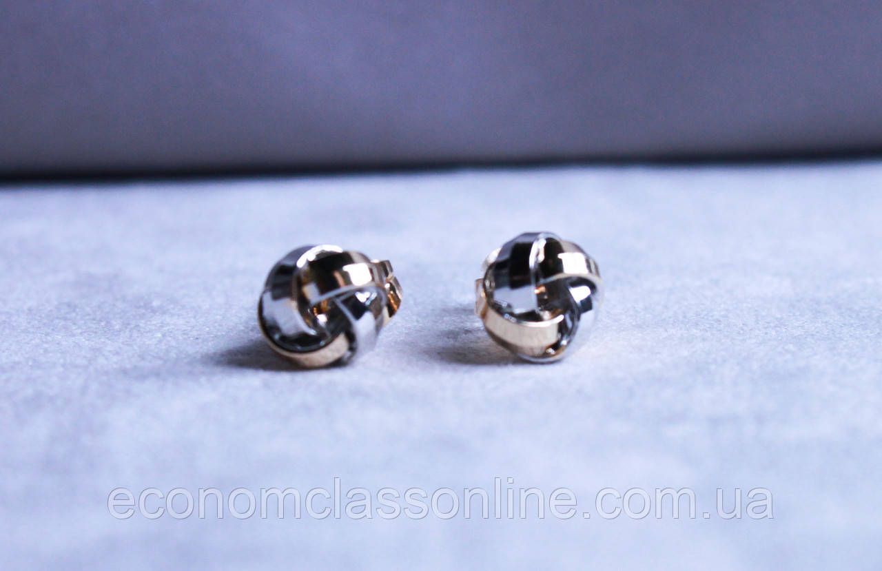 Стильні сережки фірми Xuping ( color 25)