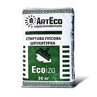 Штукатурка гипсовая стартовая ArtEco ECOIZO
