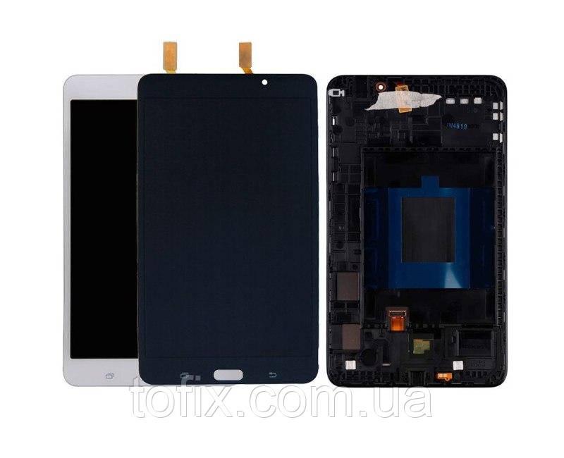 """Дисплей для Samsung T230, T231, T235 Galaxy Tab 4 7.0"""", версия Wi-Fi, модуль (екран і сенсор), з рамкою"""