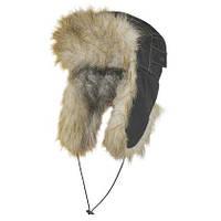 Шапка-ушанка зимняя с мехом, Теплая шапка Nova Tour c мехом МТ3