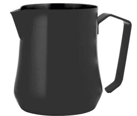 Профессиональный питчер (молочник) Motta Tulip Black 350 мл