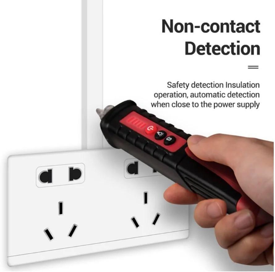 Безконтактний детектор напруги 12-1000В зі світлодіодною індикацією