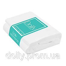 Салфетки в пачках Doily 30см х 40см (100 шт\пач) из спанлейса 40г\м2
