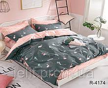 Евро комплект постельного белья с компаньоном R4174