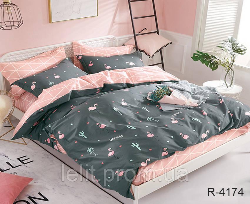 Семейный комплект постельного белья с компаньоном R4174