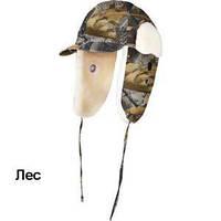 Шапка-ушанка зимняя с козырьком, Теплая шапка для охоты Nova Tour М-1
