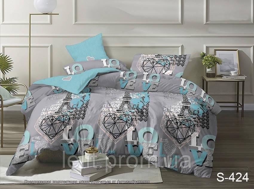 Двуспальный комплект постельного белья с компаньоном S424