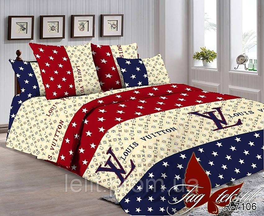 Семейный комплект постельного белья R7106