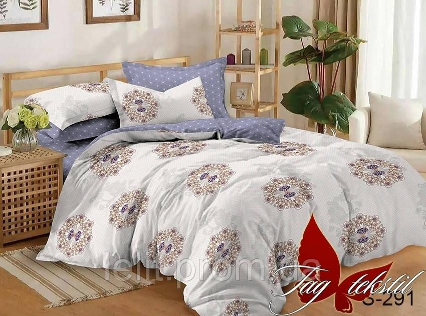 Семейный комплект постельного белья с компаньоном S291