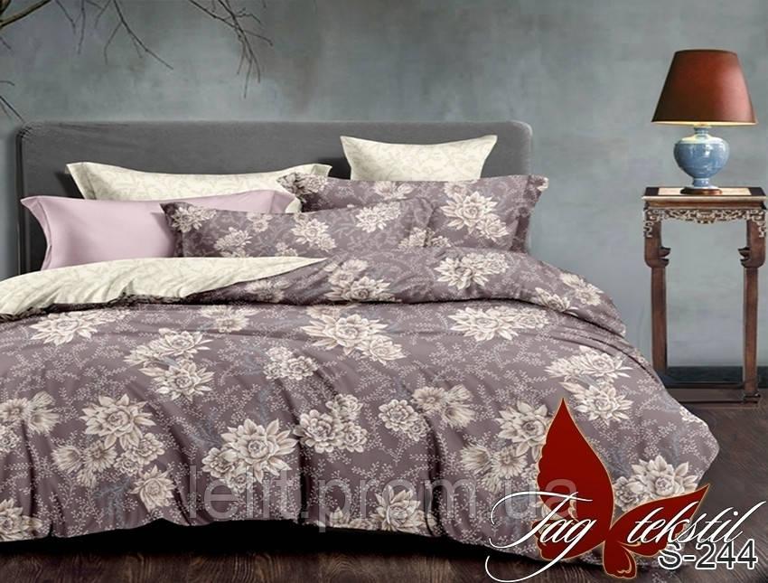 Двуспальный комплект постельного белья с компаньоном S244