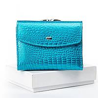 Жіночий шкіряний гаманець SERGIO TORRETTI WS-11 light-blue Жіночі гаманці оптом Одеса 7 км, фото 1