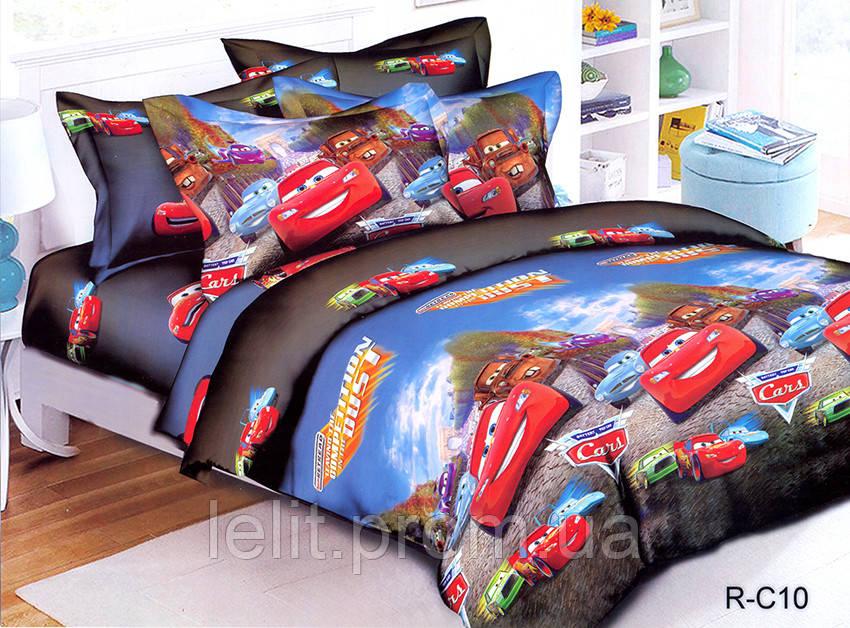 Детский полуторный комплект постельного белья R-C10