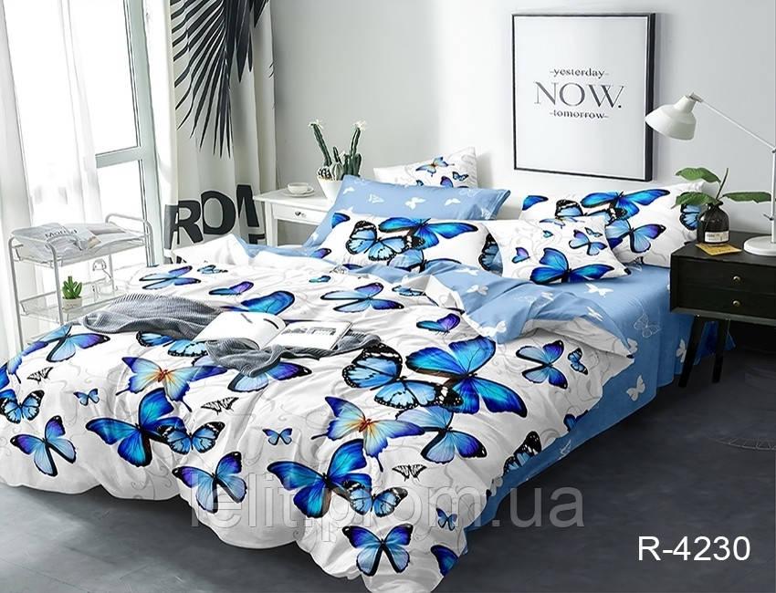 Полуторный комплект постельного белья с компаньоном R4230
