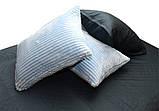 Двуспальный комплект постельного белья зима-лето Light blue, фото 3
