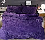 Евро комплект постельного белья зима-лето Violet, фото 2