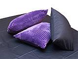 Евро комплект постельного белья зима-лето Violet, фото 3