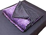 Евро комплект постельного белья зима-лето Violet, фото 5