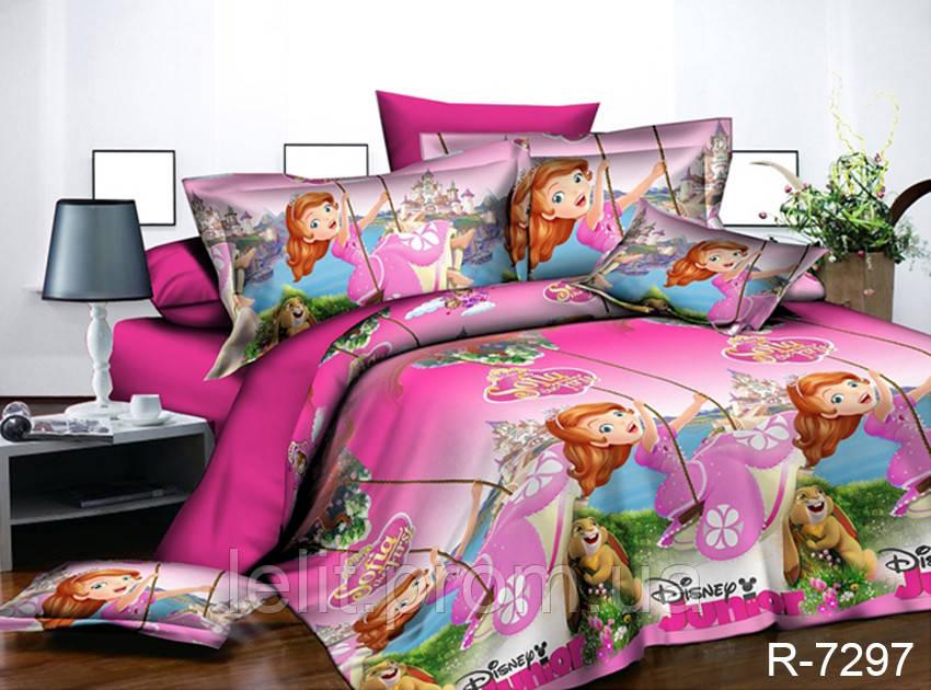 Детский полуторный комплект постельного белья R7297