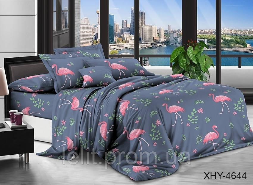 Полуторный комплект постельного белья XHY4644