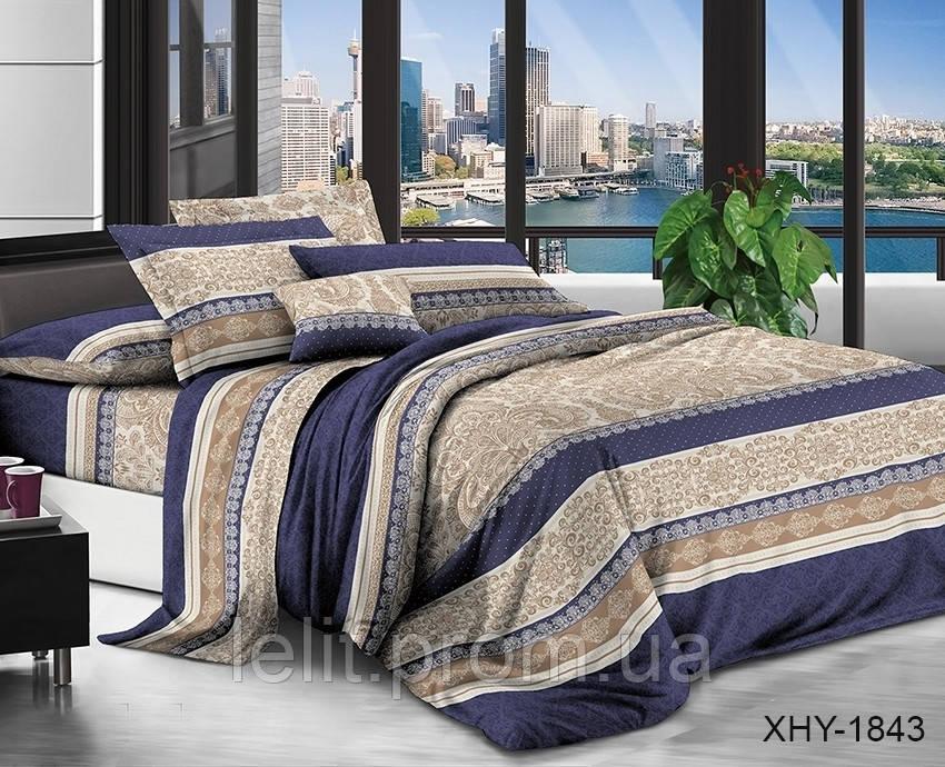 Семейный комплект постельного белья XHY1843