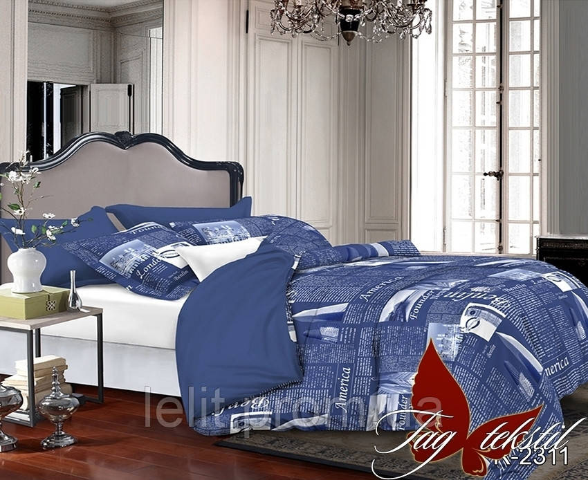 Семейный комплект постельного белья R2311