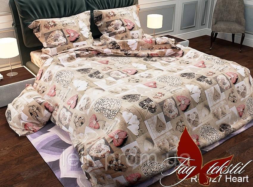 Семейный комплект постельного белья R2027 Heart