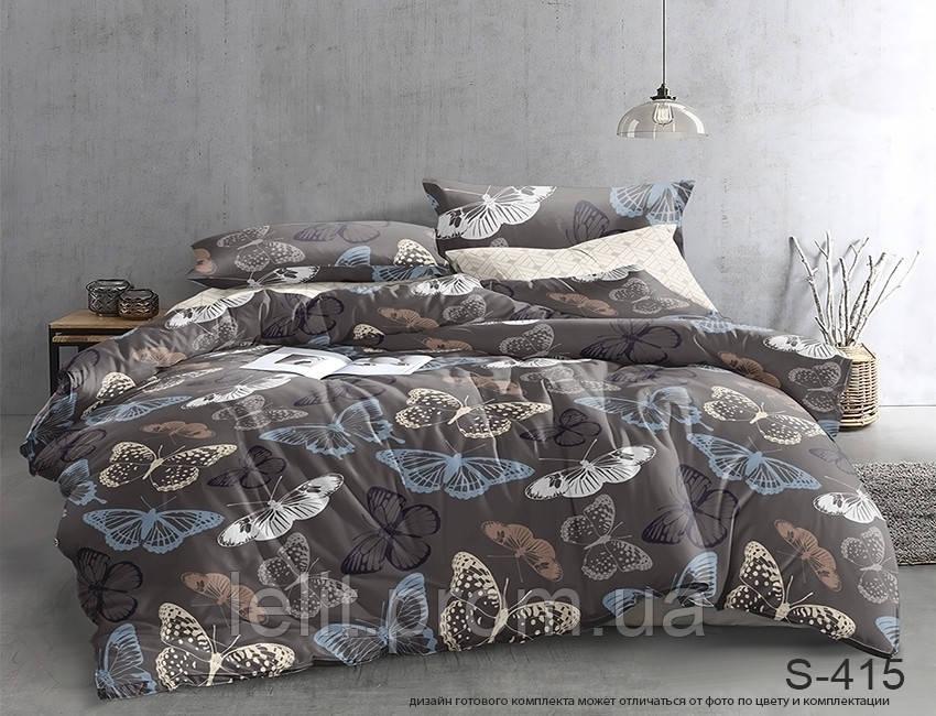 Полуторный комплект постельного белья с компаньоном S415