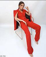 Женский классический костюм ,женский брючный костюм тройка, фото 1