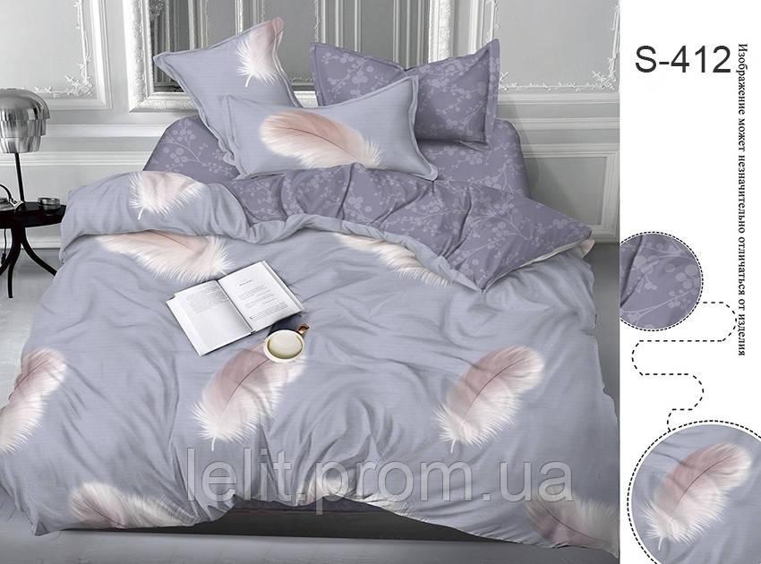 Евро комплект постельного белья с компаньоном S412