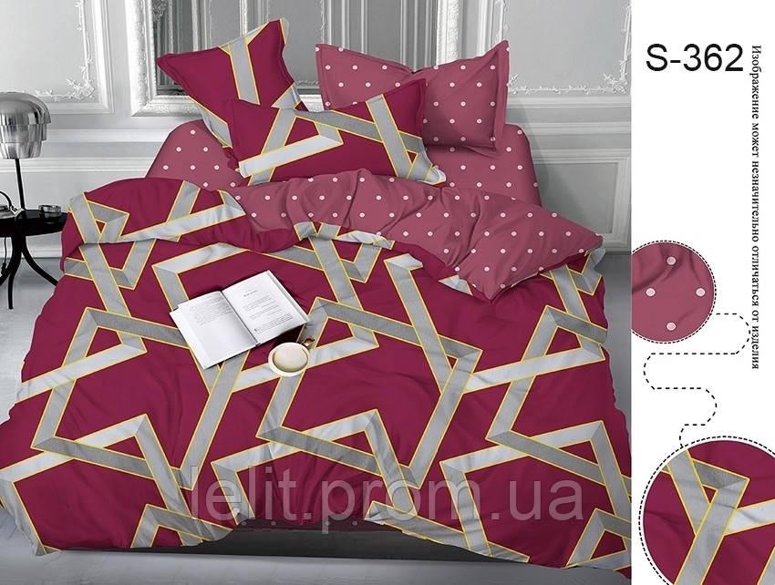 Евро комплект постельного белья с компаньоном S362