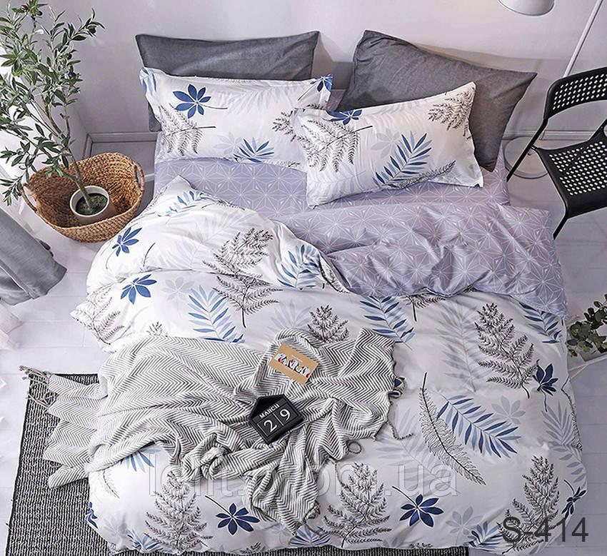 Евро-макси комплект постельного белья с компаньоном S414