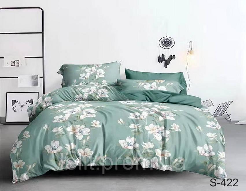 Евро-макси комплект постельного белья с компаньоном S422