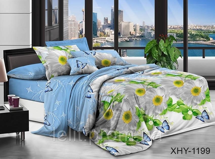 Семейный комплект постельного белья XHY1199