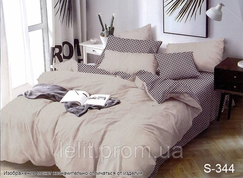 Полуторный комплект постельного белья с компаньоном S344