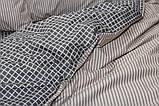 Полуторный комплект постельного белья с компаньоном S344, фото 5