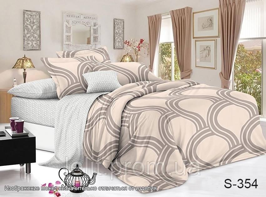 Семейный комплект постельного белья с компаньоном S354