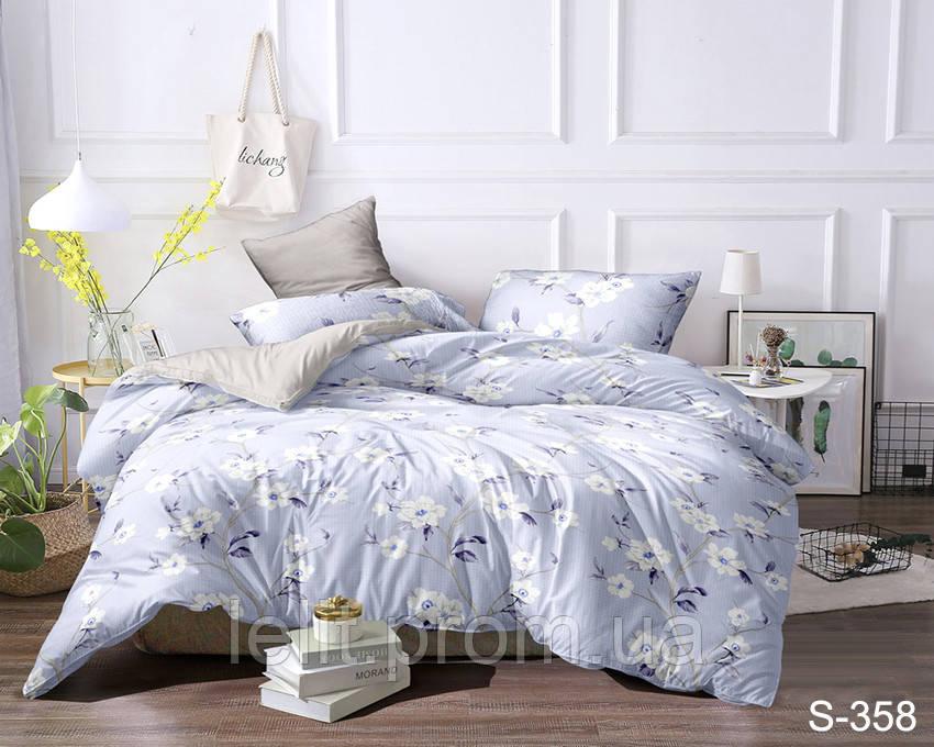 Евро-макси комплект постельного белья с компаньоном S358