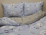 Евро-макси комплект постельного белья с компаньоном S358, фото 4