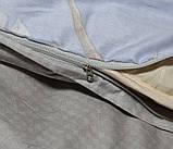Евро-макси комплект постельного белья с компаньоном S358, фото 5